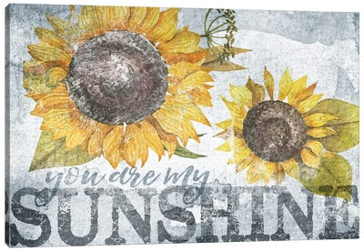 Sunshine Sunflower Canvas Art Print