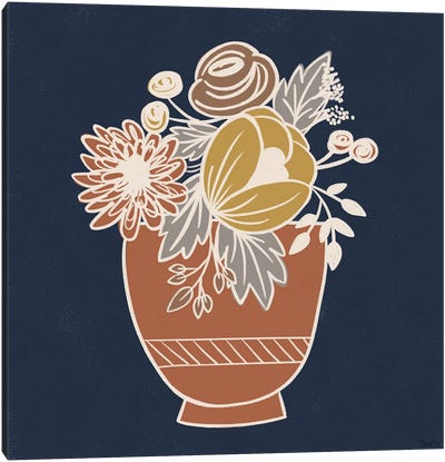 Fall Floral I Canvas Art Print