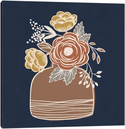 Fall Floral II Canvas Art Print