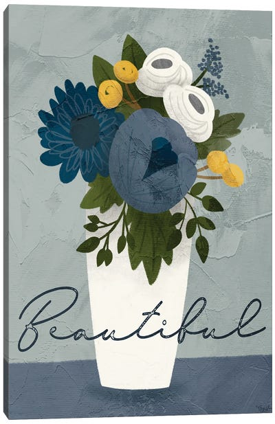 Flower Beautiful Canvas Art Print