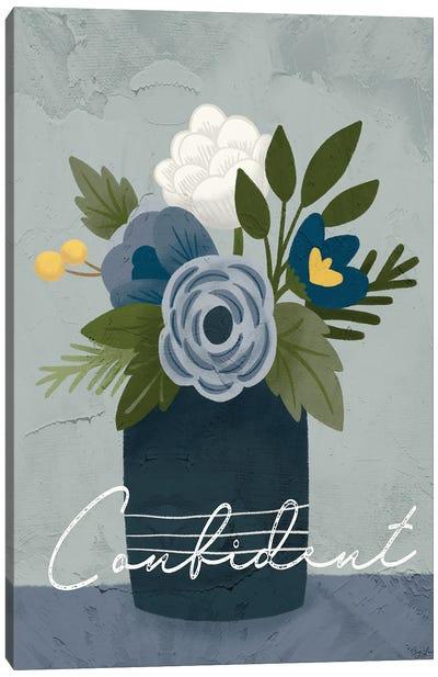 Flower Confident Canvas Art Print