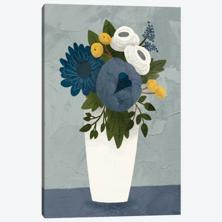 Flowers I Canvas Print #GGL46} by Gigi Louise Canvas Print