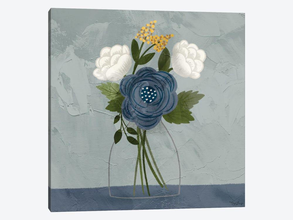 Flowers I by Gigi Louise 1-piece Canvas Wall Art