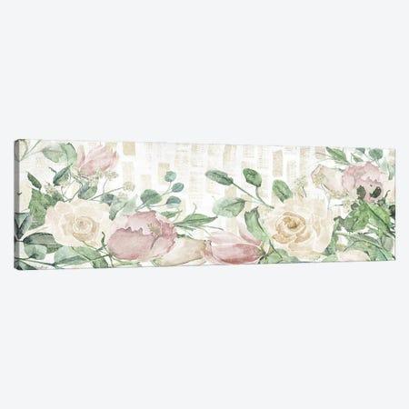 Neutral Flowers Canvas Print #GGL50} by Gigi Louise Art Print