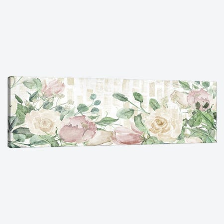 Neutral Flowers Canvas Print #GGL50} by Gigi Louise Art Print