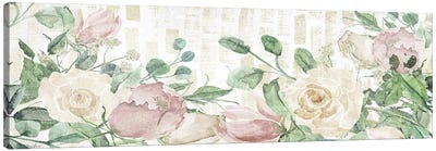 Neutral Flowers Canvas Art Print