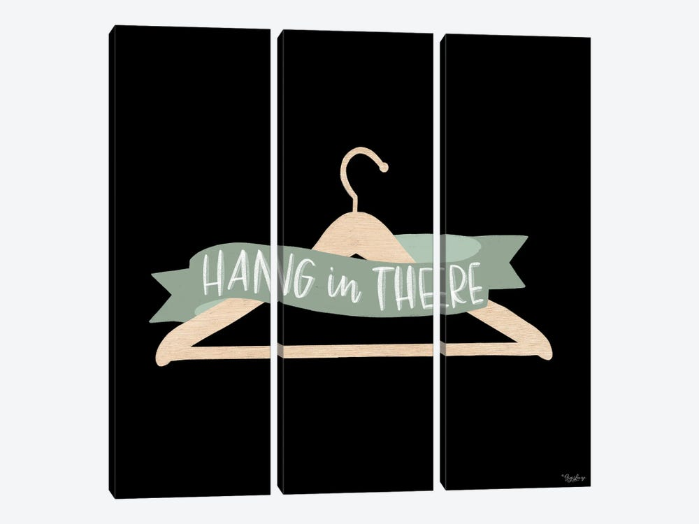 Hang In There Sage by Gigi Louise 3-piece Canvas Art
