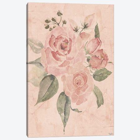 Blush Floral I Canvas Print #GGL5} by Gigi Louise Canvas Artwork