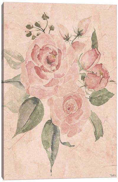 Blush Floral I Canvas Art Print