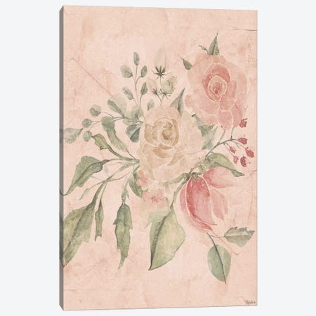 Blush Floral II Canvas Print #GGL6} by Gigi Louise Canvas Wall Art