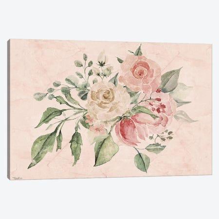 Blush Floral III Canvas Print #GGL7} by Gigi Louise Canvas Artwork