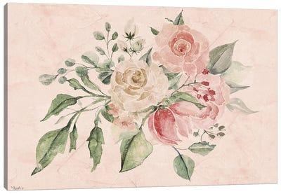 Blush Floral III Canvas Art Print
