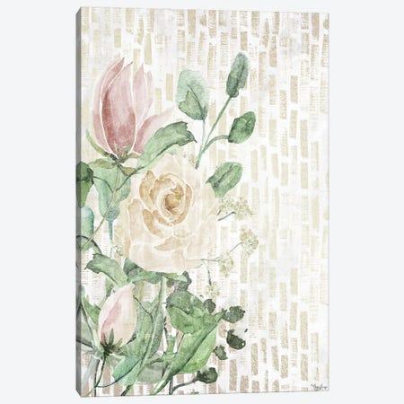 Neutral Flowers Canvas Print #GGL9} by Gigi Louise Art Print
