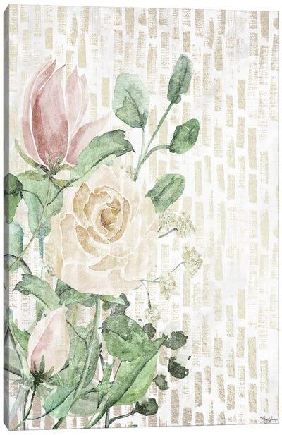 Neutral Flowers Canvas Art Print