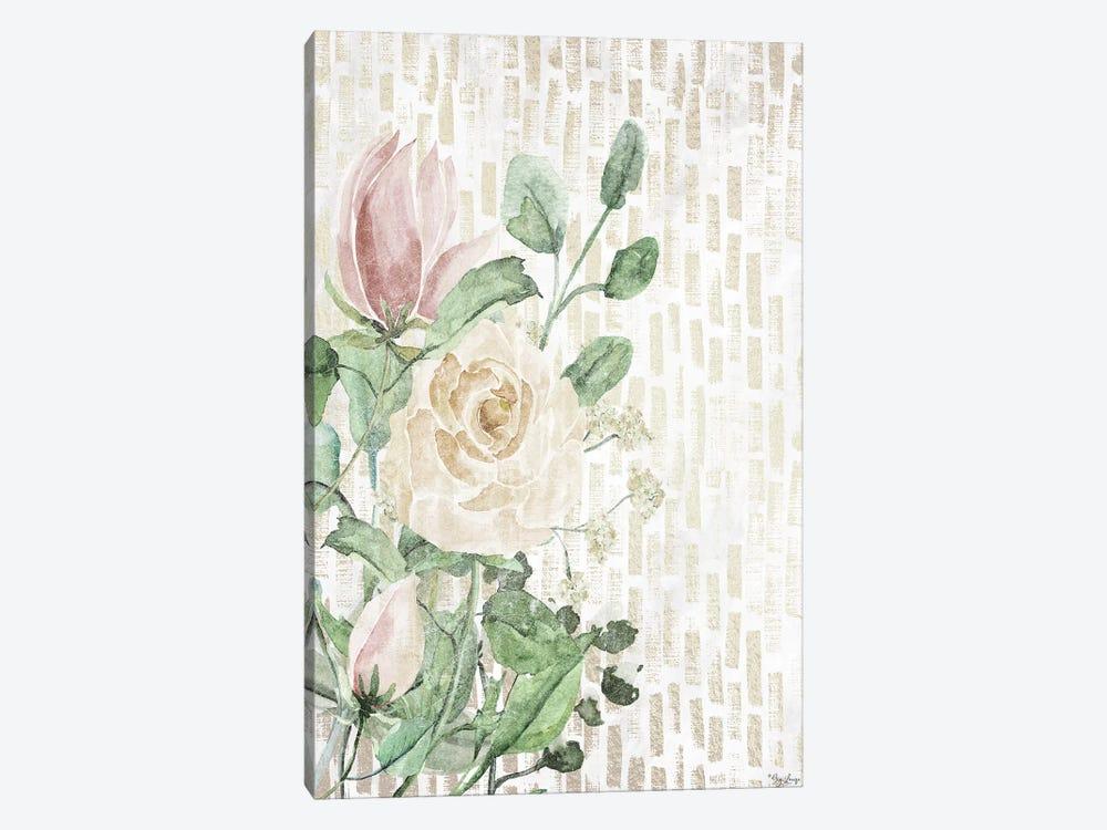Neutral Flowers by Gigi Louise 1-piece Art Print