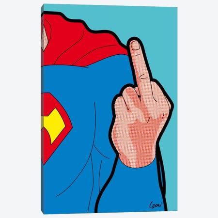 """Super-Finger Canvas Print #GGN22} by Grégoire """"Léon"""" Guillemin Canvas Art"""