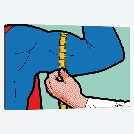 "Super-Evaluation Canvas Print #GGN37} by Gregoire ""Leon"" Guillemin Canvas Wall Art"