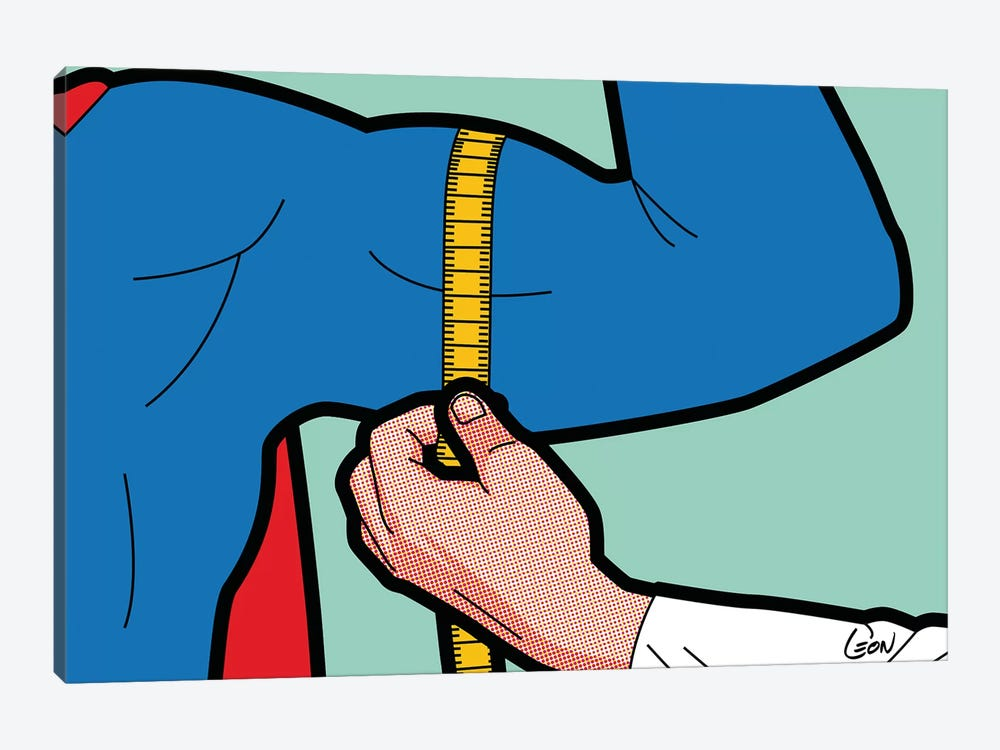 "Super-Evaluation by Gregoire ""Leon"" Guillemin 1-piece Canvas Wall Art"