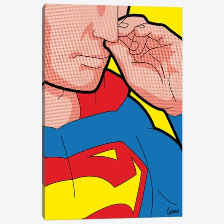 "Super-Bogie Canvas Print #GGN3} by Grégoire ""Léon"" Guillemin Canvas Print"