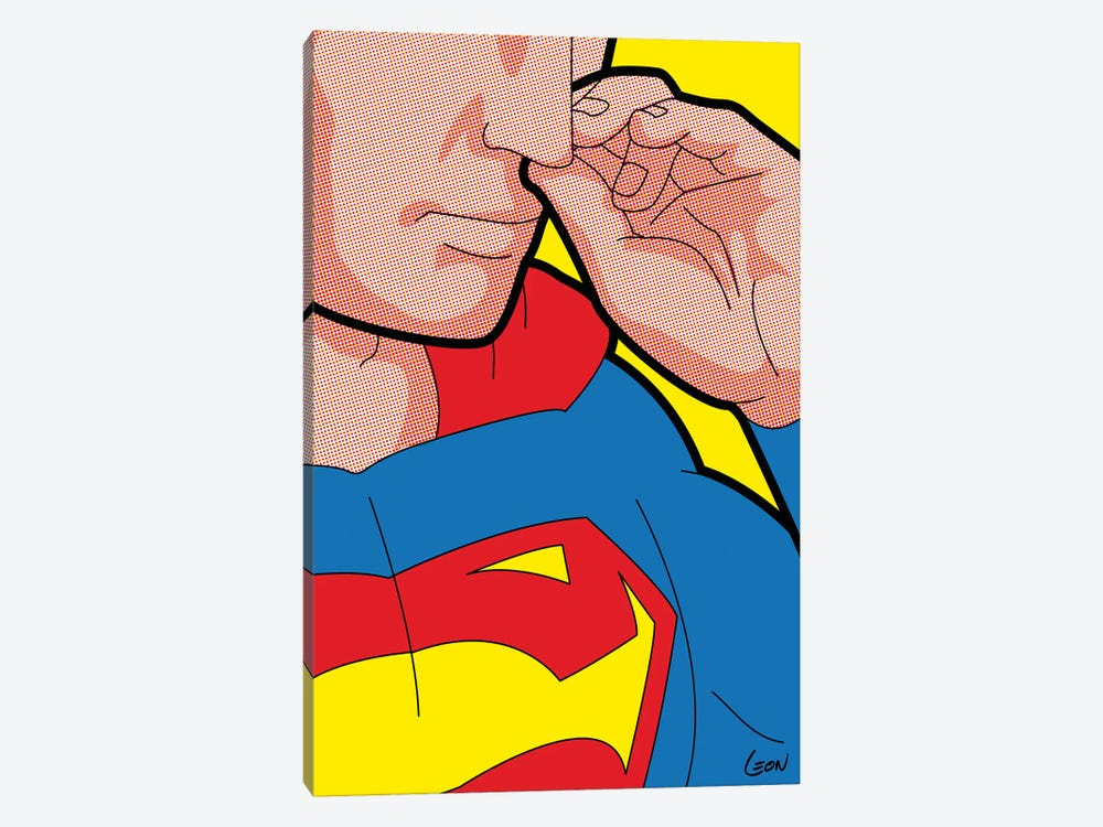 "Super-Bogie by Gregoire ""Leon"" Guillemin 1-piece Canvas Art Print"