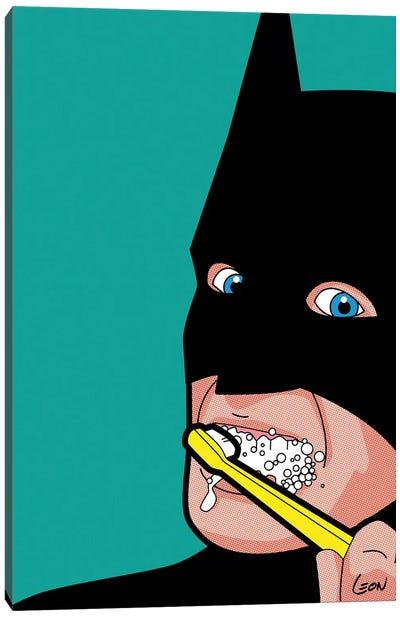 Bat-Brush Canvas Art Print