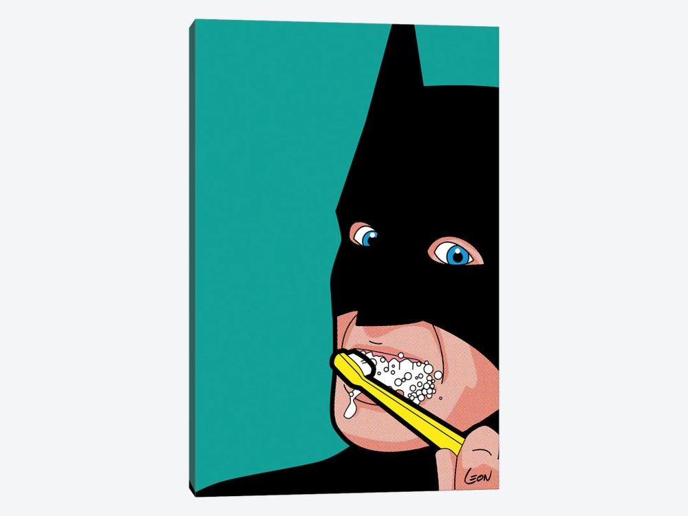 """Bat-Brush by Grégoire """"Léon"""" Guillemin 1-piece Canvas Artwork"""