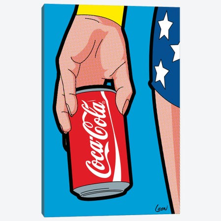 "Wonder-Drug Canvas Print #GGN67} by Grégoire ""Léon"" Guillemin Canvas Print"