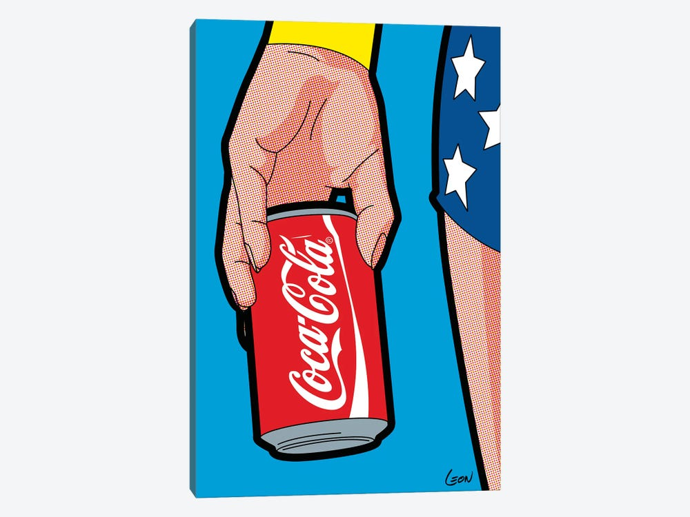 "Wonder-Drug by Gregoire ""Leon"" Guillemin 1-piece Canvas Art Print"
