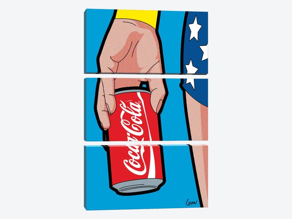 "Wonder-Drug by Grégoire ""Léon"" Guillemin 3-piece Art Print"