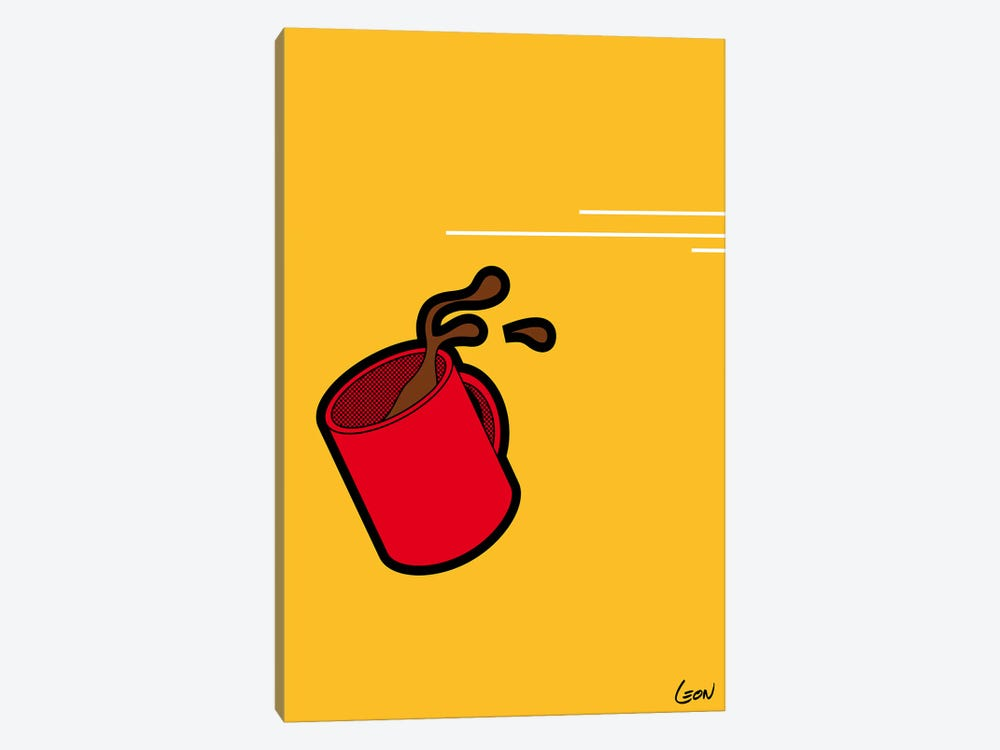"""Flash-Morning #1 by Grégoire """"Léon"""" Guillemin 1-piece Canvas Art"""