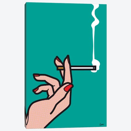 "Mad Men #1 Canvas Print #GGN93} by Grégoire ""Léon"" Guillemin Canvas Art Print"