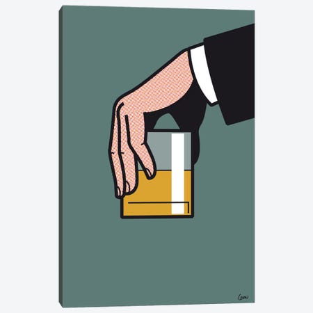 "Mad Men #2 Canvas Print #GGN94} by Grégoire ""Léon"" Guillemin Canvas Artwork"