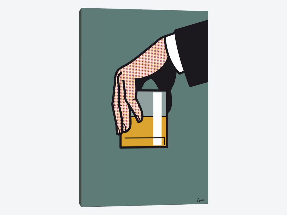 "Mad Men #2 by Grégoire ""Léon"" Guillemin 1-piece Art Print"