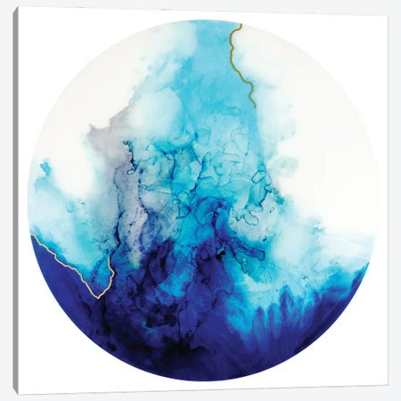Aqua I Canvas Print #GGS20} by Goga Studio Art Print