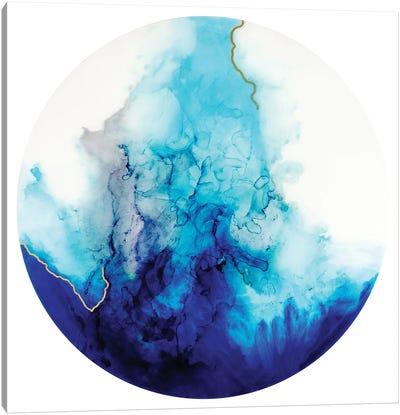 Aqua I Canvas Art Print