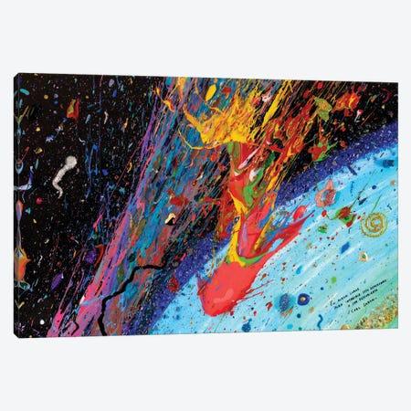 Travesía Interestelar Canvas Print #GGS44} by Goga Studio Canvas Artwork