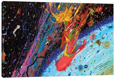 Travesía Interestelar Canvas Art Print