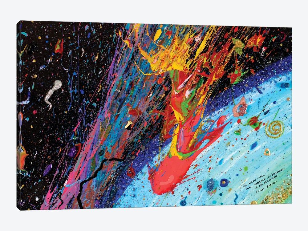 Travesía Interestelar by Goga Studio 1-piece Canvas Artwork