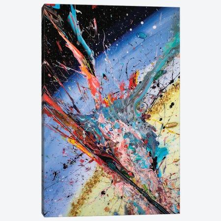 Encuentro Cósmico Canvas Print #GGS4} by Goga Studio Canvas Art