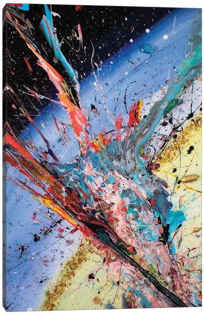 Encuentro Cósmico Canvas Art Print
