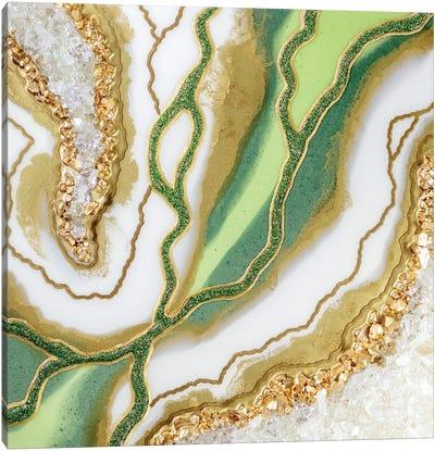 Mito del Jaguar Canvas Art Print