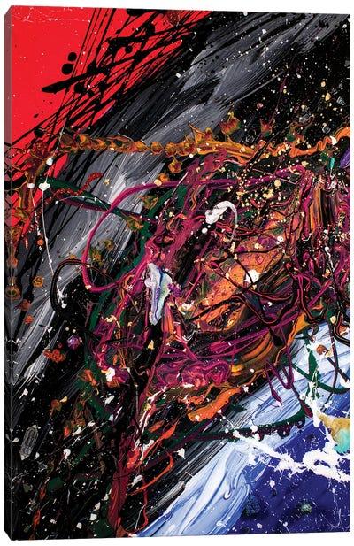 Odisea al Más Allá Canvas Art Print