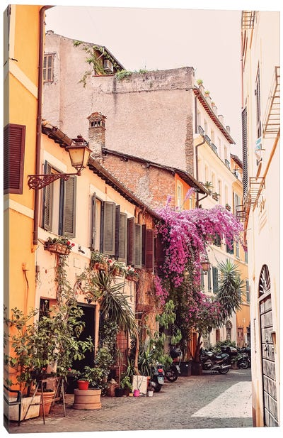 Alley Of Rome Canvas Art Print