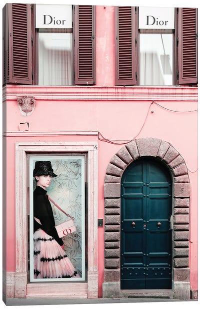 Fashion Door Canvas Art Print