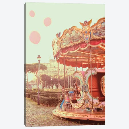 Gone With Balloons Canvas Print #GGV23} by A Carousel Wandering Canvas Artwork