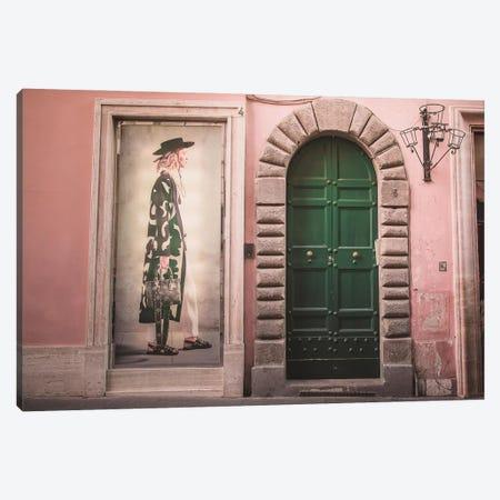 Green Fashion Canvas Print #GGV24} by A Carousel Wandering Canvas Art Print