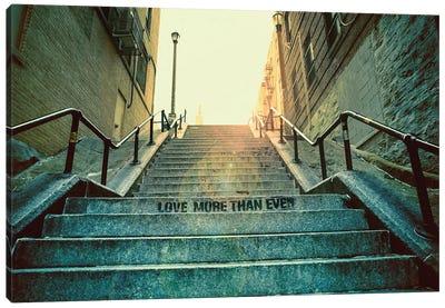 Joker'S Stairs Canvas Art Print