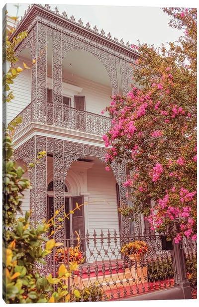 House Of Flowers Canvas Art Print
