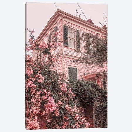 Pink Nola Canvas Print #GGV46} by A Carousel Wandering Art Print