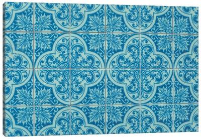 Azulejos Azules Canvas Art Print